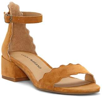 Lucky Brand Women's Norreys Scallop Ankle-Strap Sandals