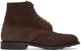 Church's Churchs Brown Suede Renwick Boots