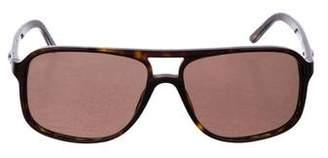 Salvatore Ferragamo Tortoiseshell Tinted Sunglasses