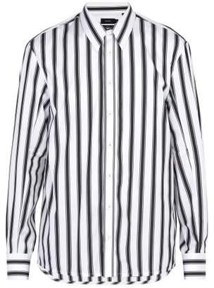 Joseph Jean Marc Striped Cotton Shirt - Mens - White