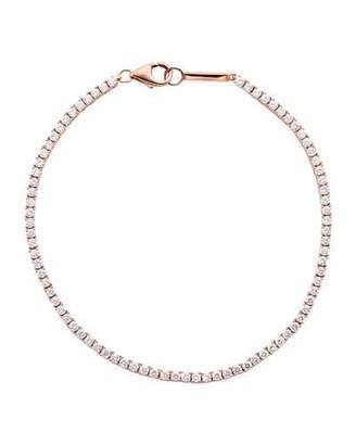 Lana 14k Rose Gold Diamond Tennis Bracelet