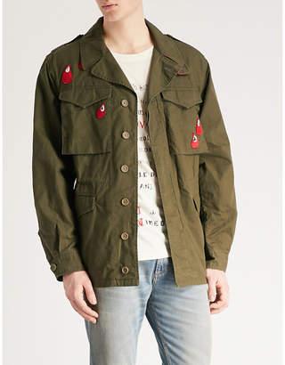 Gucci Spiritismo cotton-drill parka jacket