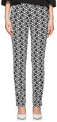 Derek Lam Women's Jacquard Slim Trousers
