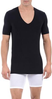 Tommy John Cool Cotton Deep V-Neck Undershirt