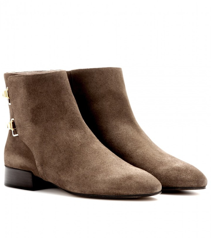 Chloé Brennan suede ankle boots