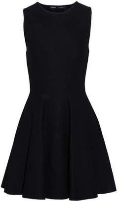 Proenza Schouler Flared Cutout Knitted Mini Dress