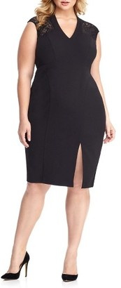 Plus Size Women's London Times Sheath Dress $108 thestylecure.com