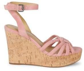 a1c260b8d71b Splendid Fallon Suede Wedge Sandals