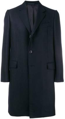 Caruso tailored single breasted coat