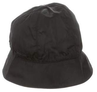 Prada Leather Trimmed Bucket Hat b9e7bc97f285