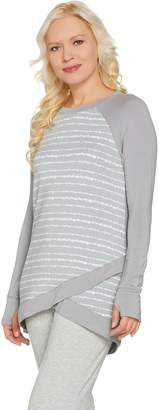 Cuddl Duds Ultra Soft Comfort Wrap Over Tunic