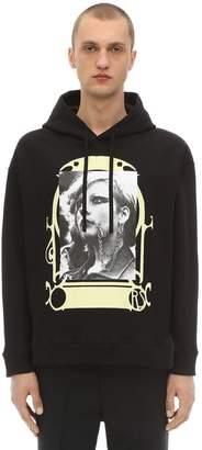 Raf Simons Printed Sweatshirt Hoodie
