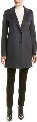T Tahari Missy Jayden Wool-Blend Coat