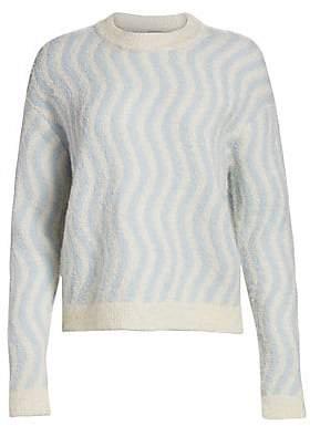 Rachel Comey Women's Powers Striped Boucle Sweater