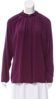 Lanvin Silk Oversize Top