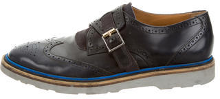 Paul Smith Paul Smith Wingtip Monk Strap Oxfords