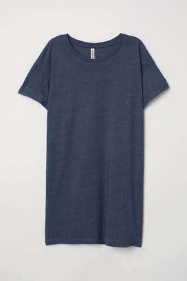 H&M Long T-shirt - Blue