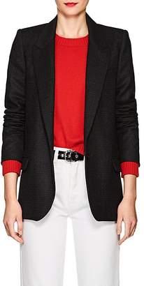 Etoile Isabel Marant Women's Igora Plaid Wool-Blend One-Button Blazer