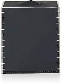 Arte & Cuoio Boutique Tissue Box - Dark Gray