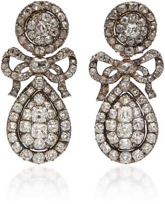 M'O Vintage One-Of-A-Kind Diamond Earrings