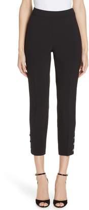 Kate Spade jewel button crop pants