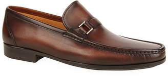 Magnanni Buckle Detail Penny Loafer