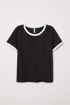 H&M Short T-shirt - Powder pink - Women