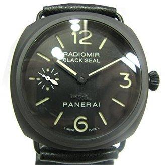 Panerai [パネライ ラジオミール ブラックシール 腕時計 ウォッチ ブラック セラミック×レザーベルト PAM00292 [中古]