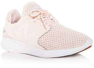 New Balance Women's FuelCore Coast v3 Lace Up Sneakers