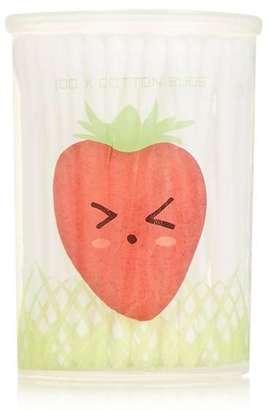 Strawberry cotton buds
