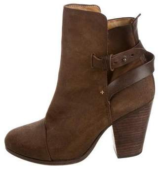 Rag & Bone Kinsey Round-Toe Ankle Boots
