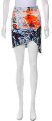 Bec & Bridge Printed Mini Skirt