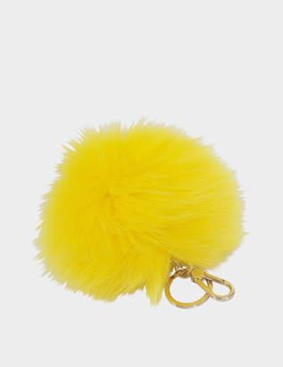 Furla Bubble Keyring Pon Pon monocolor