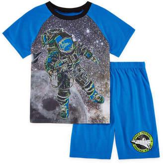 LICENSED PROPERTIES 4D 2-pc. Space Short Sleeve Kids Pajama Set-Boys