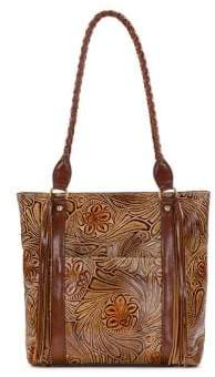 Patricia Nash Rena Fields Leather Tote