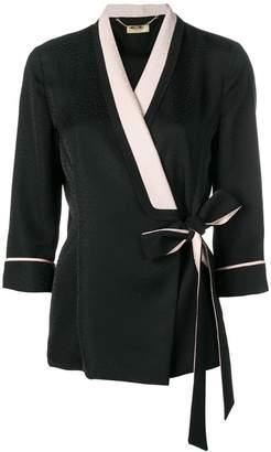 Liu Jo side tie fitted jacket