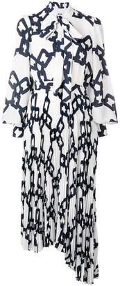 MSGM loose printed dress