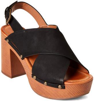 Indigo Rd Black Dani Platform Sandals