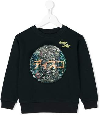 Bellerose Kids glitter disco ball sweatshirt