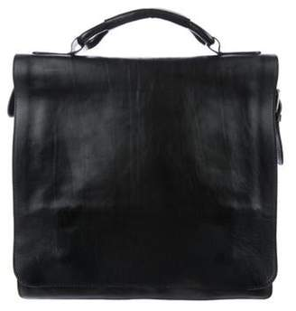 Maison Margiela Grained Leather Messenger Bag black Grained Leather Messenger Bag