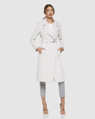 Oxford Tash Coat With Eyelet Belt