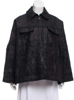 Lanvin Oversized Wool Jacket