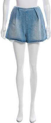 Edit Mini Denim Shorts