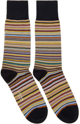 Paul Smith Multicolor Multi Stripe Socks