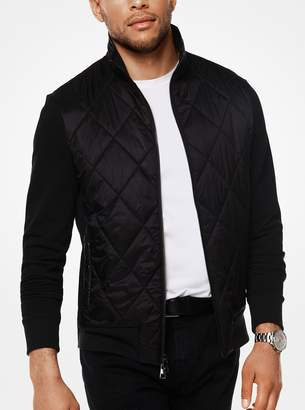 Michael Kors Quilted Cotton-Blend Thermal Jacket