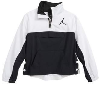 Jordan AJ '90s Popover Quarter Zip Pullover