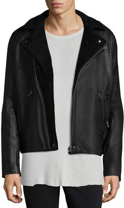 IRO Ebbe Leather Biker Jacket