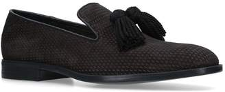 Jimmy Choo Perforated Foxley Slippers