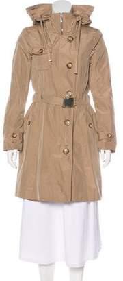 Moncler Corbiere Knee-Length Coat