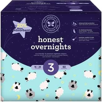 The Honest Company Honest Overnight Baby Diapers, Club Box, Sleepy Sheep